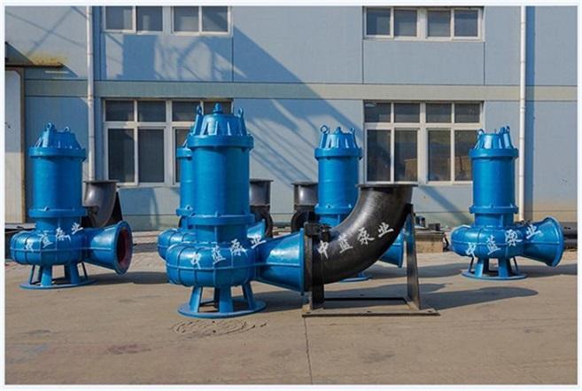 潜水排污泵大口径污水处理泵站现货 2