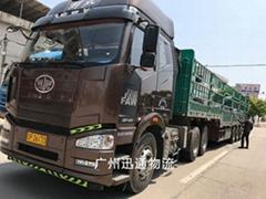 广州至湖北物流货运专线
