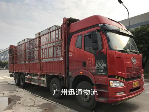 广州至湖北物流货运专线 2