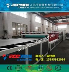 建筑模板机器价格_PP中空建筑模板生产线