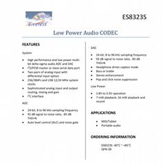 音频CODEC  ES8323S