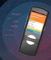 """智能语言翻译便携式触摸屏2.4""""AI翻译机Wifi全球语音翻译 2"""