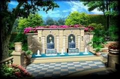 廣東五行園林提供專業中式庭院設計