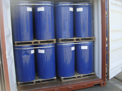 Aseptic tomato paste in drums