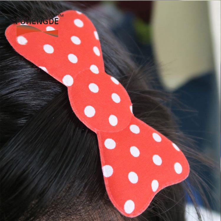 Cute PVC Hair Bow for Baby Girls 5