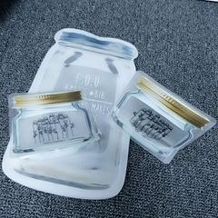 异形自立自封食品塑料袋包装