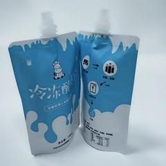 自立鋁箔果凍吸嘴袋