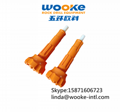 Four Inch Air Powered Mining Tools Rock Drilling Bits for deep well
