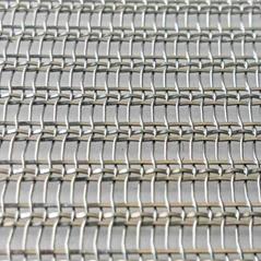 硕隆软装系列现货工艺玻璃夹层金属装饰不锈钢网