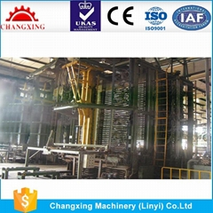 wood machinery blockboard production line hot press machine