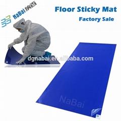 high tackiness LDPE disposable door sticky mat