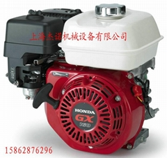 本田發動機GX160風冷5HP排量163CC水泵平板夯抹光機動力