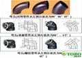 CuNi Pipe Fitting SeamlessWelded Elbow EEMUA 146 C7060x Copper Nickel 90/10 3