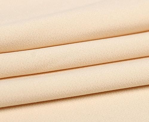 Pure Polyester Yarn-dyed Composite Silk Stretch Fabric 2