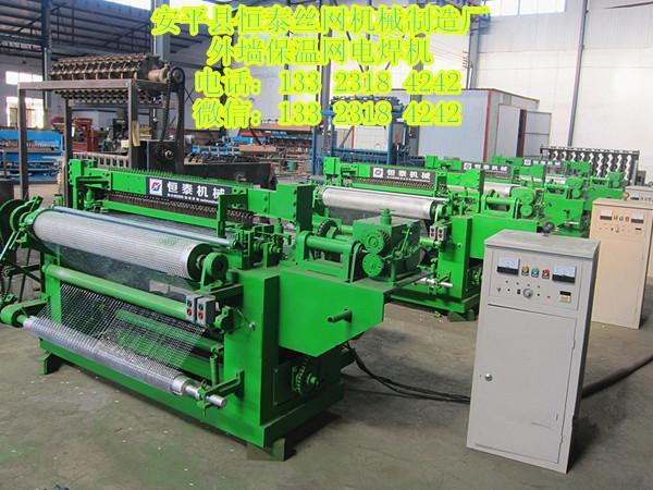 恒泰新型全自动优质不锈钢焊网机用于工艺品 1