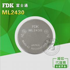 FDK品牌|ML2430纽扣锂电池