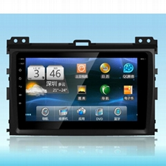 9 inch Android 6.0 Car DVD Player for Toyota Prado 120 2004-2009 Car Radio GPS