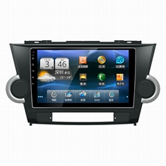 9inch Android 6.0 CAR DVD Player for Toyota Highlander  Radio GPS Navigation