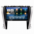 10.1 inch Car GPS Navigation DVD Player for Toyota CAMRY 1