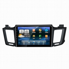 For Toyota RAV4  10.1 inch Android 6.0 car dvd player car radio wifi 4G