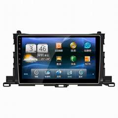 10.1 inch Android 6.0 car dvd player for HIGH LANDER gps navi headunit auto