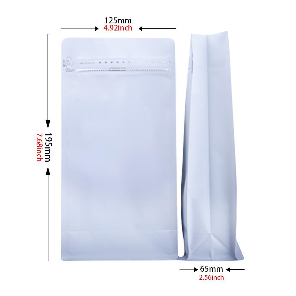 high quality aluminum foil flat bottom box pouch with zipper pet food packaging 1