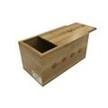 Wholesale Painted Handmade Sliding Wooden Wine Storage Box with Custom Logo 4
