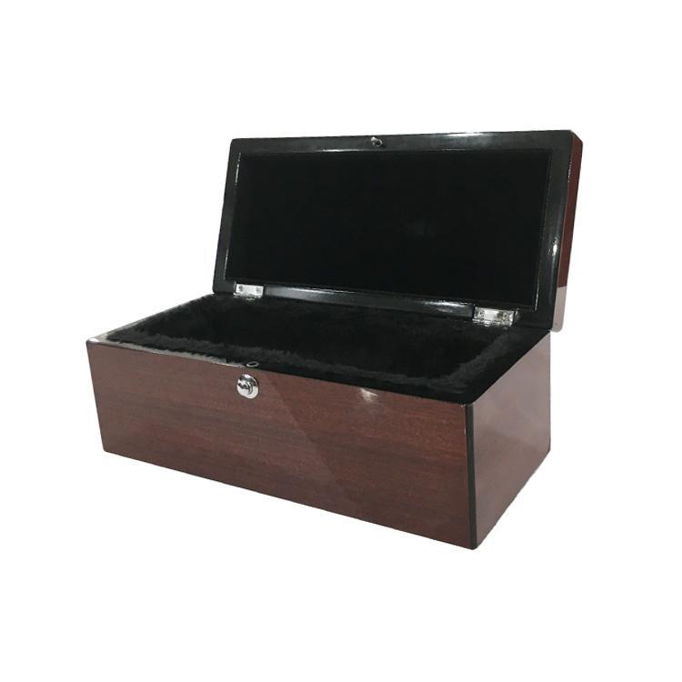 High gloss finish good quality wooden wine box china manufacturer 2