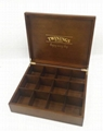 High quality custom wooden tea box