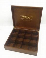 High quality custom wooden tea box manufacturer