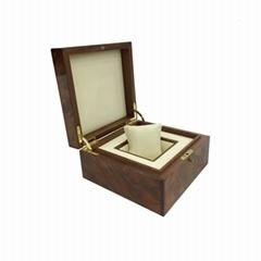 Luxury High Quality Single Slot Wooden Watch Box