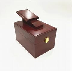 Hot-sale handmade customized solid wood shoe storage box