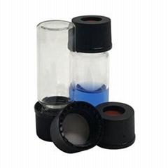 1 2 dram glass vial, autosampler vials