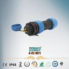2P-9P航空防水连接器