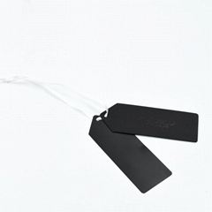Custom Black Cardboard Paper Hang Tag
