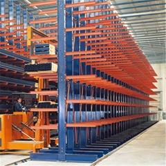 Adjustable Multilayer industrial Long Pipe Cantilever Rack