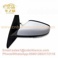 Brilliance autoElectric Rearview Mirror Assembly for H330OEM No. 3919540/3919580