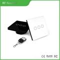 RF remote switch EU standard 3 gang