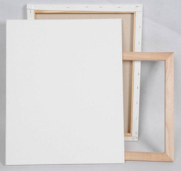 儿童纯棉绷订白画框 3