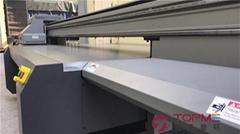 上海二维码收款亚克力标牌uv平板打印机