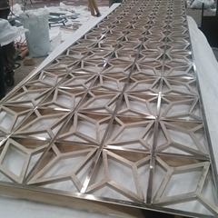 Decorative Stainless Steel Screen Partition
