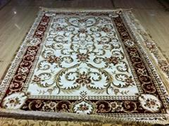 威尔顿工艺块毯