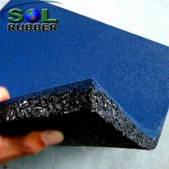 25mm Safety Outdoor Playground Rubber Flooring Tiles