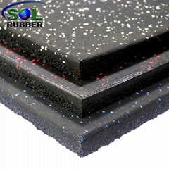 Premium Quality Fitness Rubber Flooring Tiles For Gym