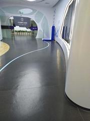 高明荷城卷材同質透心彈性PVC膠地板廠家直銷