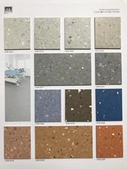 順德同質透心彈性幼儿園健身房專用環保耐磨PVC膠地板工廠直銷