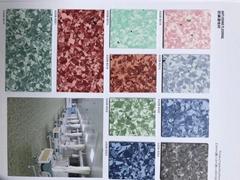 三水區耀江華邦系列醫院幼儿園同質透心PVC環保膠地板工廠直銷