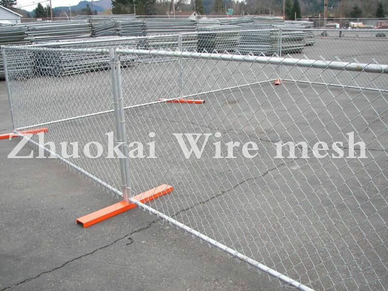 Chain Link Mesh Temporary Fence 1