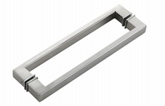 Stainless steel Zinc Handles and Knobs for shower door and shower cubicle