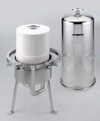 Disc膜堆過濾器濾殼